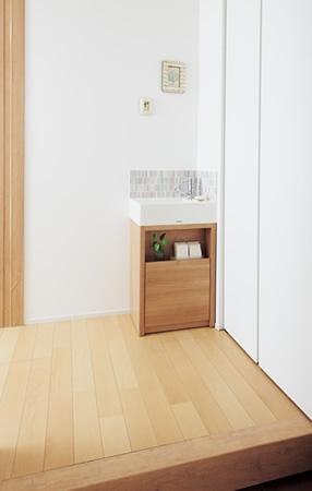 玄関の手洗いコーナー Panasonic